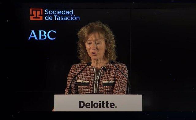 La subgobernadora del Banco de España, Margarita Delgado, en XXVII Encuentro del Sector Financiero