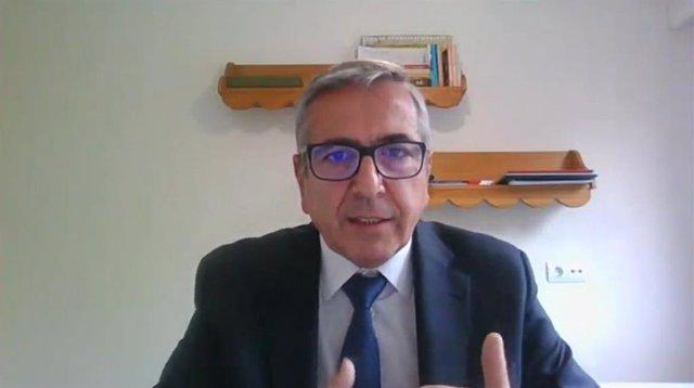 El presidente del ICO, José Carlos García de Quevedo, en XXVII Encuentro del Sector Financiero