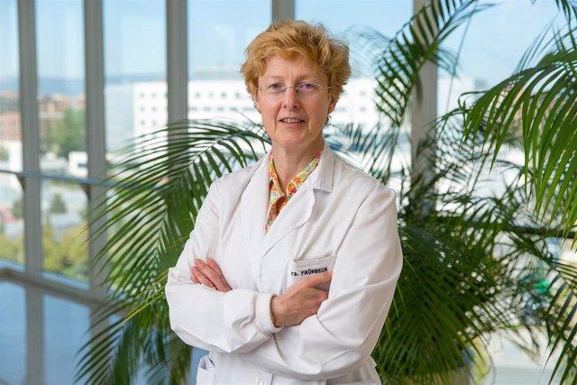 La doctora Gema Frühbeck, de la Clínica Universidad de Navarra