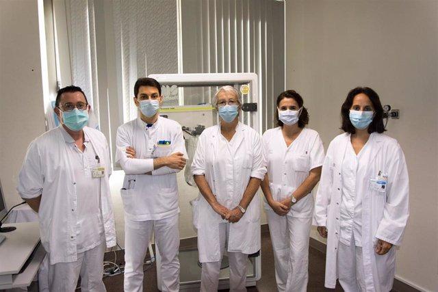 Equipo de la consulta específica de EPOC del Hospital Son Llàtzer.