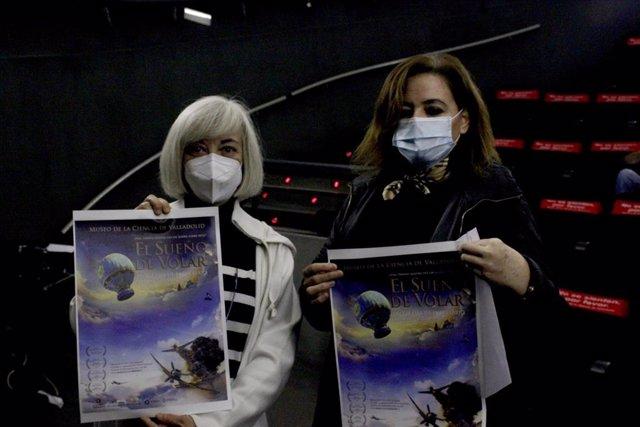 Presentación del programa accesible 'El sueño de volar' en el Planetario del Museo de la Ciencia de Valladolid.