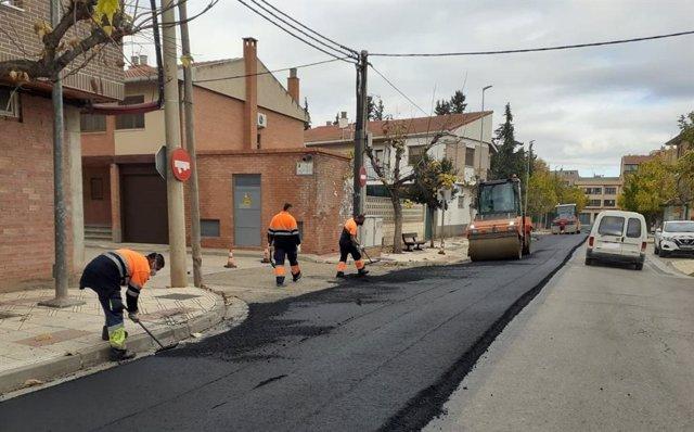 Las obras finalizarán a finales del mes de diciembre