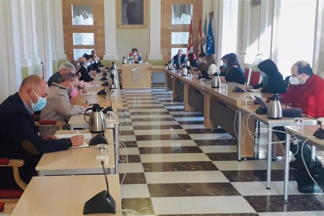 Reunión del consejo rector del IMAS de Cáceres