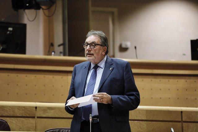 El senador de JxCat Josep Lluís Cleries.