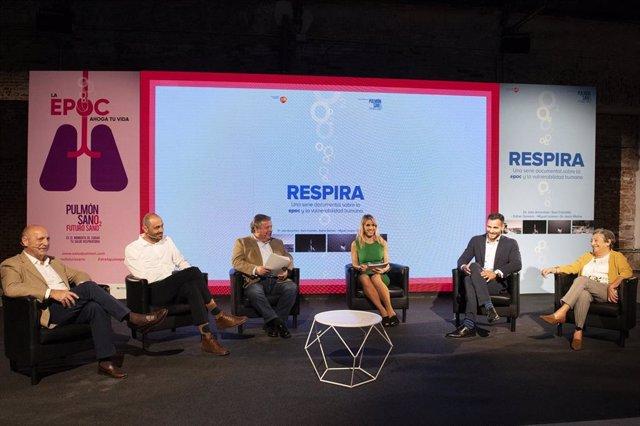 GSK presenta el documental 'Respira' para concienciar sobre la EPOC