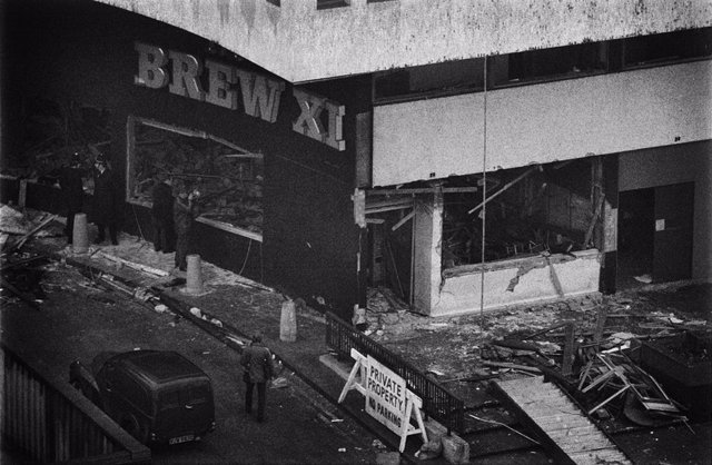 Bar Mulberry Bush de Birmingham, escenario de un atentado del IRA Provisional en 1974