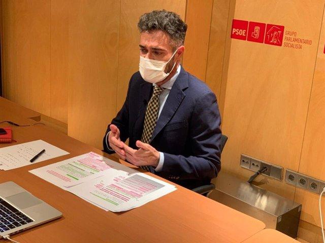 El diputado del PSOE de Jaén Felipe Sicilia.
