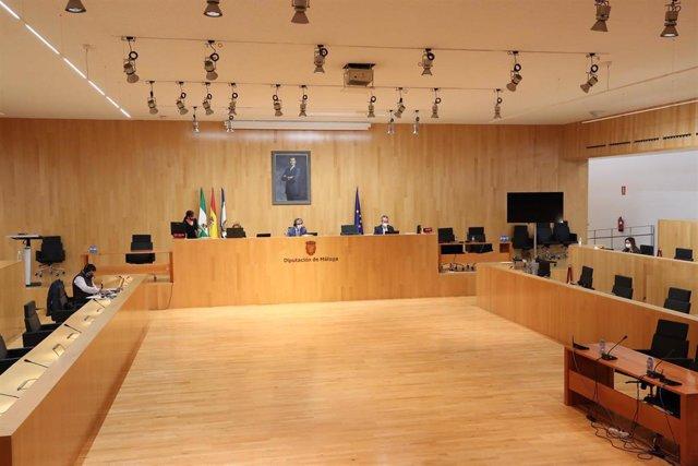 Pleno ordinario de noviembre de la Diputación de Málaga