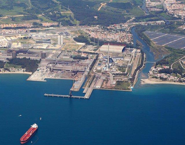 Terminal portuaria de Endesa en Los Barrios