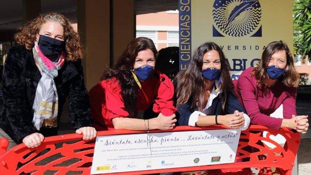 Malena Rubistein, Beatriz Macías, Isabel Serrato y Rosa María Díaz