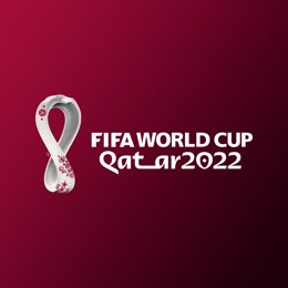 HANDOUT - 03 September 2019, ---: A picture made available by the Supreme Committee for Delivery & Legacy (SC) shows the official emblem of the 22nd edition of the FIFA World Cup, which to take place in Qatar in 2022. Photo: -/Supreme Committee for Delive