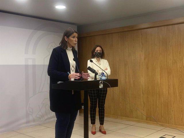 Mercedes García Paine, delegada territorial de Educación y Deporte de la Junta de Andalucía en Málaga