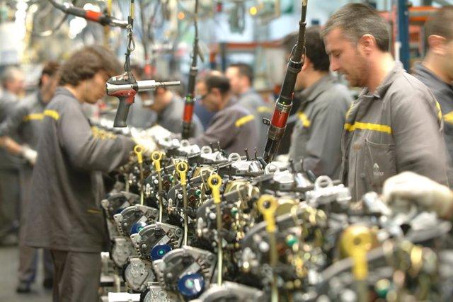 Fábrica de Motores de Renault en Valladolid.