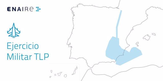 Mapa TLP Enaire