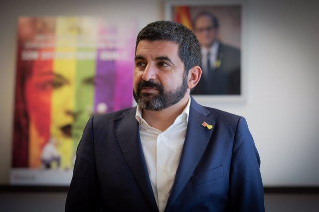 El conseller de Trabajo, Asuntos Sociales y Familias de la Generalitat, Chakir el Homrani (Archivo)