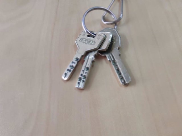 Recurso de llaves, firma de hipotecas sobre viviendas.