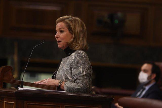 La diputada de Coalició Canària (CC) Ana Oramas, al Congrés dels Diputats. Madrid (Espanya), 11 de novembre del 2020.