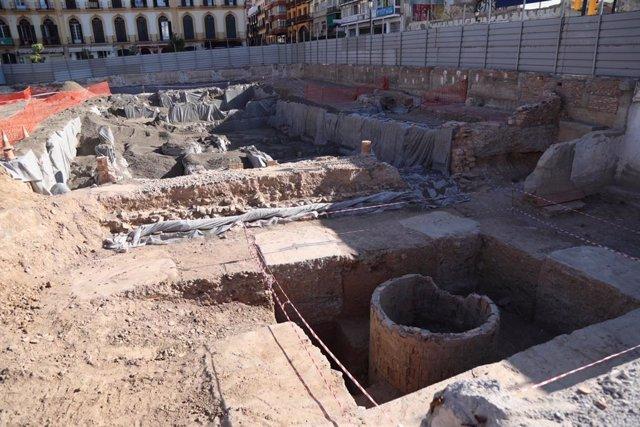Excavaciones en el Astoria y Victoria
