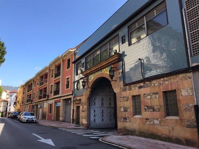 Fábrica de Gas, Oviedo.