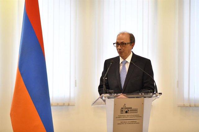 Ara Aivazián, nuevo ministro de Asuntos Exteriores de Armenia