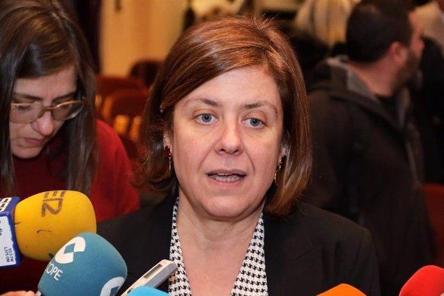 La delegada de Igualdad de la Diputación de Córdoba, Alba Doblas, en una imagen de archivo
