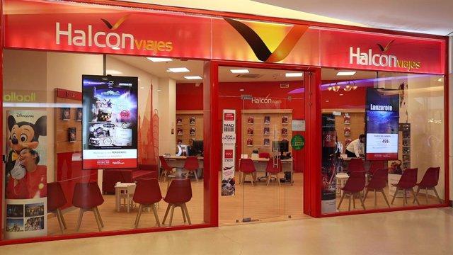 Agencia Halcón Viajes.