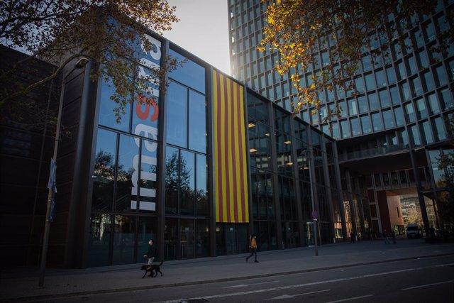 La sede de Mediapro, en Barcelona (España), a 17 de Noviembre de 2020.