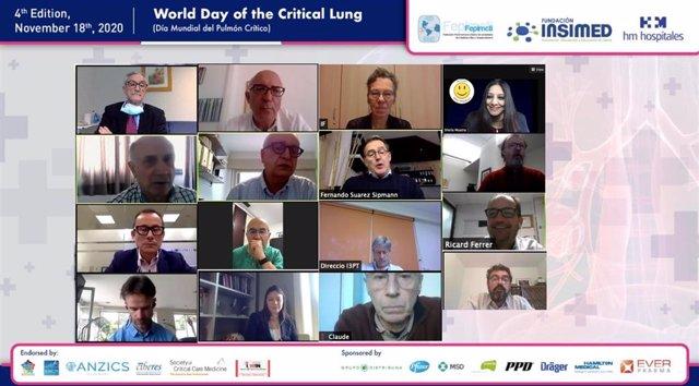 IV edición del congreso 'Día Mundial del Pulmón Crítico'-'The World Day of Critical Lung'