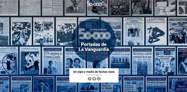La Vanguardia celebra 50.000 edicions amb un suplement especial