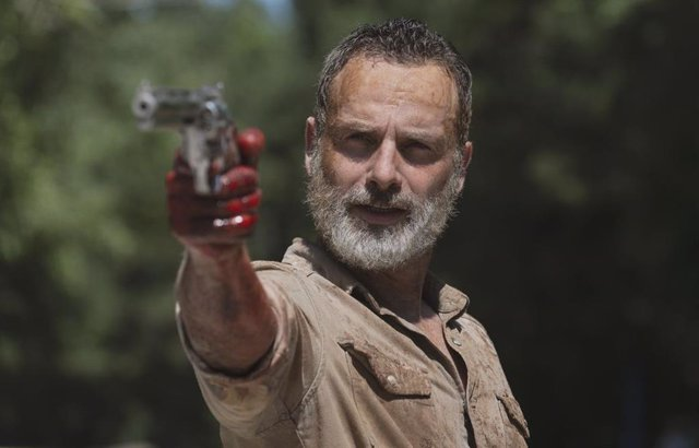 Rick Grimes en The Walking Dead