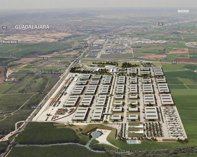 Planes para la terminal intermodal de Guadalajara