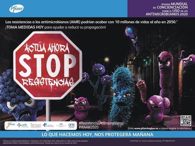 Campaña 'Ahora-Stop Resistencias'