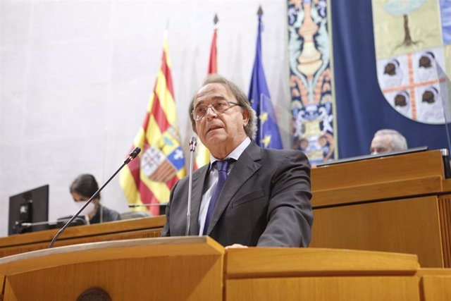 El consejero de Hacienda, Carlos Pérez Anadón.