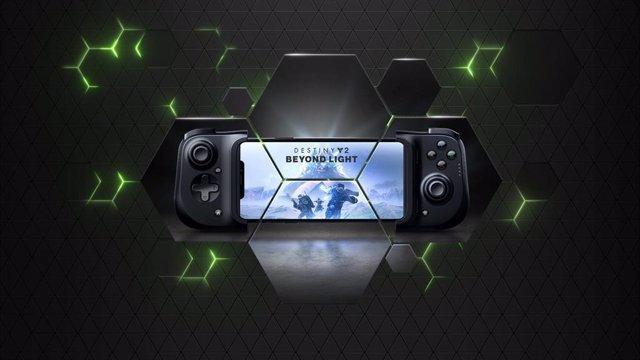 Nvidia GeForce Now en iOS.