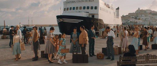 Escena de la película 'Los Europeos'.