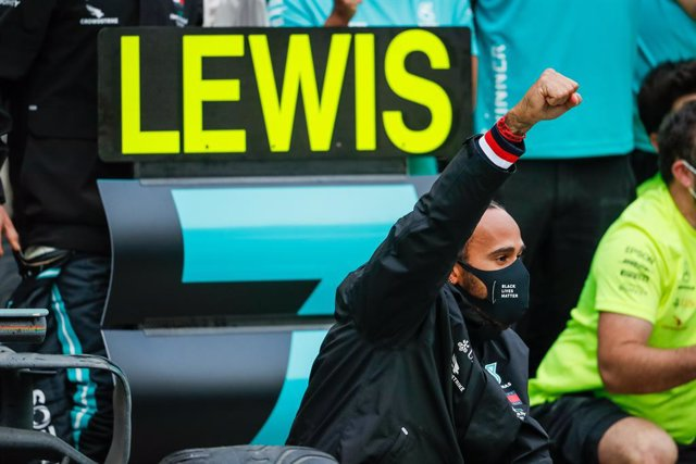 Lewis Hamilton celebra su séptimo Mundial