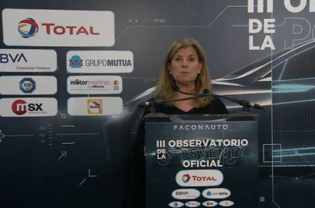 La vicepresidenta ejecutiva de Faconauto, Marta Blázquez.