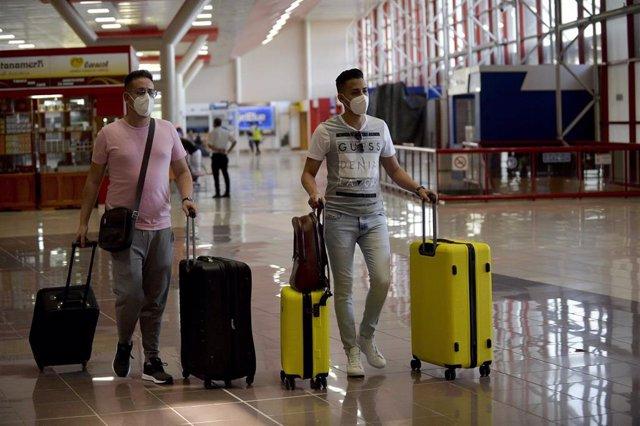 Reanudación de la actividad en el Aeropuerto Internacional José Martí de La Habana