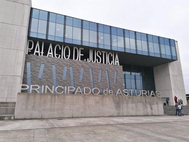 Palacio de Justicia Gijón. Juzgados.