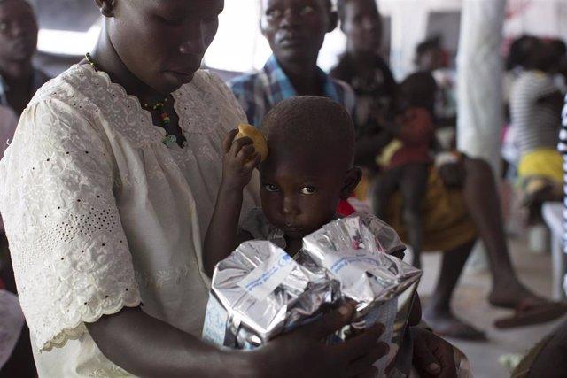 La hambruna fue declarada por última vez en 2017 en algunas partes de Sudán del Sur.