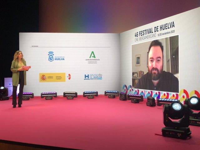 Conexión con el ganador del Premio del Público en la Sección Cortometrajes Onubenses del Festival de Cine Iberoamericano de Huelva