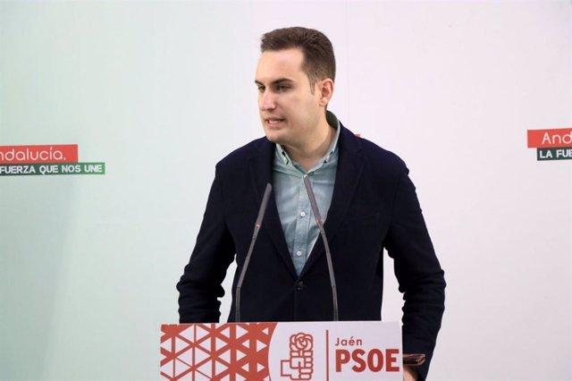 El secretario de Política Municipal del PSOE de Jaén, Jose Latorre.