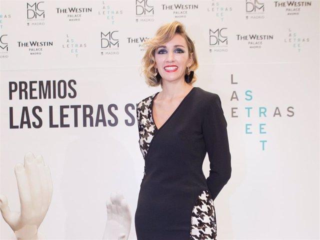 """Beatriz Tajuelo ha reaparecido en la entrega de premios """"Las Letras Street"""""""