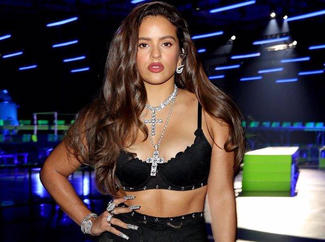 La cantante española Rosalía