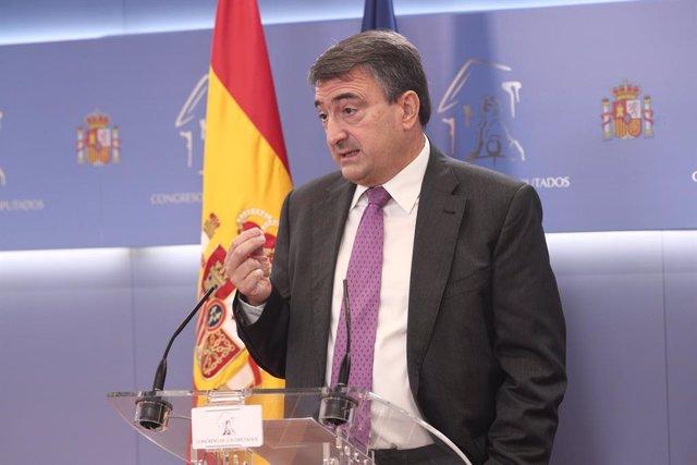 El portaveu del PNB al Congrés, Aitor Esteban.
