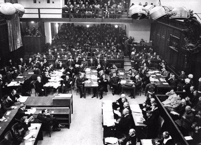 Apertura de los Juicios de Nuremberg