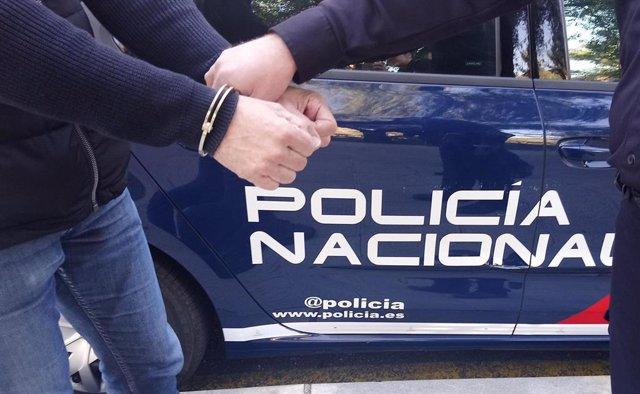Detenido en Ciudad Real por robo con intimidación.