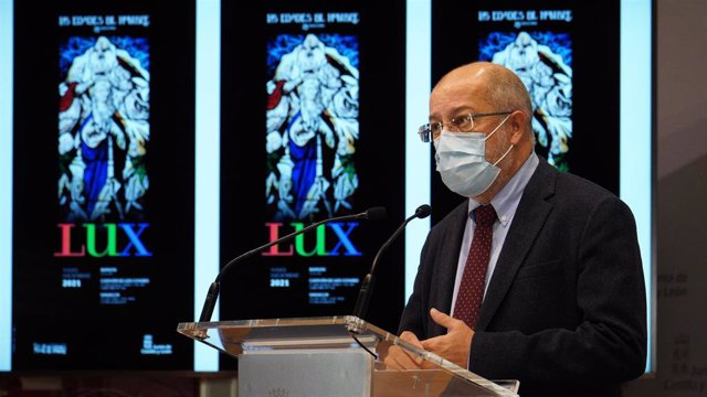 El vicepresidente de la Junta, Francisco Igea, en rueda de prensa.