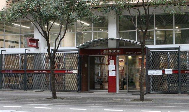 Oficina del Inaem en Zaragoza.
