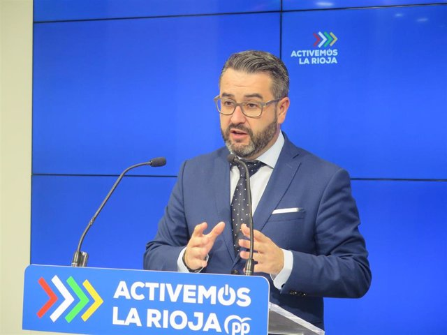 El diputado del PP, Javier Merino